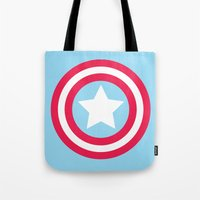 America Pastel Tote Bag