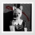 Fox Blood Art Print