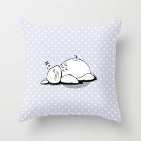 I Love Totoro 2.0  Throw Pillow