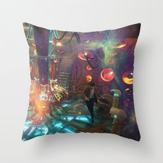 doctor who 009 Throw Pillow