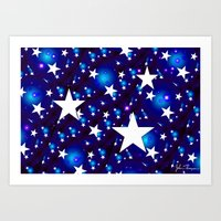 Seeing Stars Art Print
