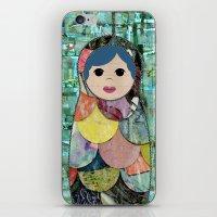 Matryoshka Nesting Dolls iPhone & iPod Skin