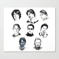 A Hero With A Thousand Faces Canvas Print