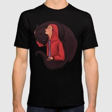 Don't Be Such a Sourwolf Mens Fitted Tee SMALL Black