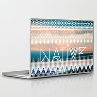 native Laptop & iPad Skins featuring Native by Sophie Kurtness