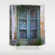 Abandoned Sicilian House… Shower Curtain