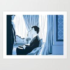 A scandal in fanart Art Print