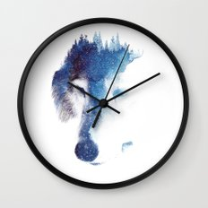 Through Many Storms Wall Clock