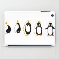 Yin Yang Penguin iPad Case