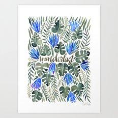 Tropical Wanderlust – … Art Print