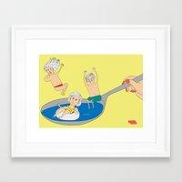 summer spoon Framed Art Print