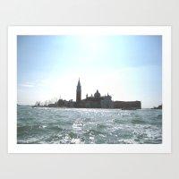 Venice. Art Print