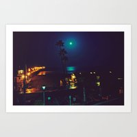 Manhattan Beach Art Print