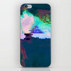 18-23-46 (Skyline Cloud Glitch) iPhone & iPod Skin