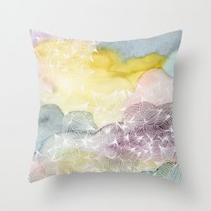 Dreaming in Lotus  Throw Pillow