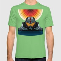 Pacific Rim Mens Fitted Tee Grass SMALL