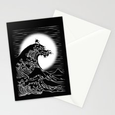 Waterbending (Black) Stationery Cards