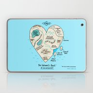 A Map Of The Introvert's… Laptop & iPad Skin
