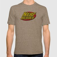Nerf Herder Mens Fitted Tee Tri-Coffee SMALL