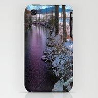 Quiet River In Winter Ti… iPhone (3g, 3gs) Slim Case