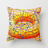 Ad Infinitum Throw Pillow