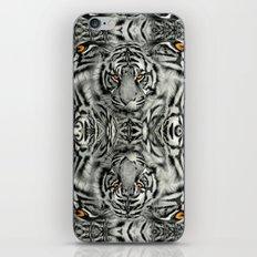 TIGER PAW-TRAIT iPhone & iPod Skin