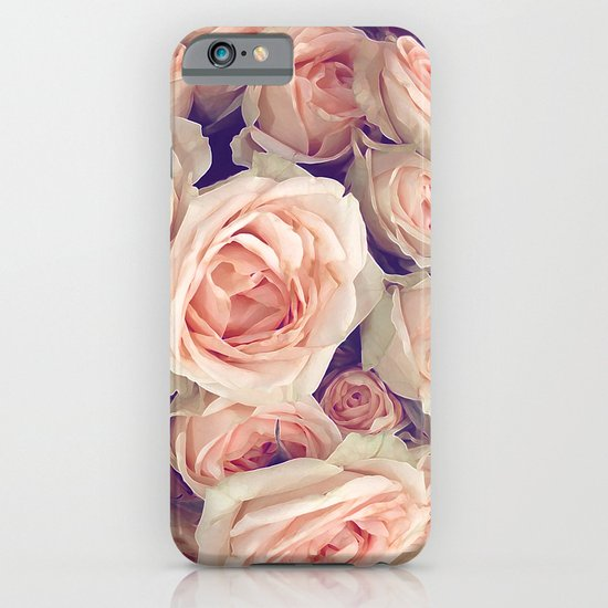Pink Roses In A Bubble iPhone & iPod Case