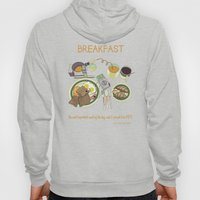 Breakfast, The Most Impo… Hoody