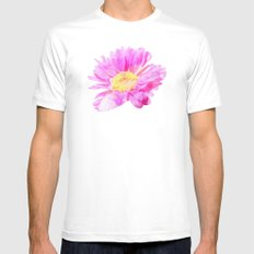 Love Shining Through Mens Fitted Tee White SMALL