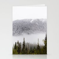 Way up there. Stationery Cards