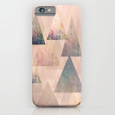 Pastel Abstract Textured Triangle Design Slim Case iPhone 6s