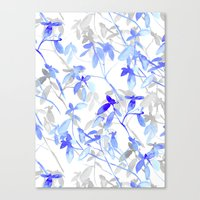 Premonition (Blue Grey) Canvas Print