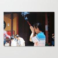 Jade Buddha Temple - Sha… Canvas Print
