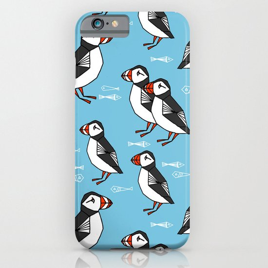Gathering of Puffins iPhone & iPod Case