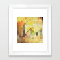 baja sunrise Framed Art Print