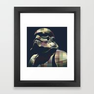 Star War | Storm Trooper… Framed Art Print