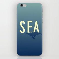 Hello Sea iPhone & iPod Skin