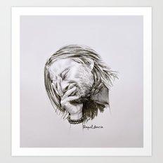 Radiohead Portrait Art Print