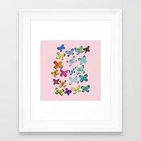 For A Friend: Butterflie… Framed Art Print