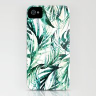Green Tropical Paradise  iPhone (4, 4s) Slim Case