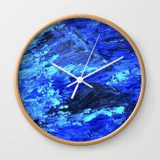 Waves  /abstract Wall Clock
