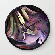 824 Fractal Wall Clock