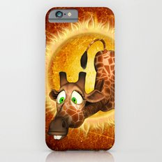 Cute giraffe iPhone 6 Slim Case
