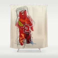 I think I'm a good person Shower Curtain