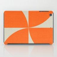 iPad Case featuring Mod Petals - Orange by Her Art