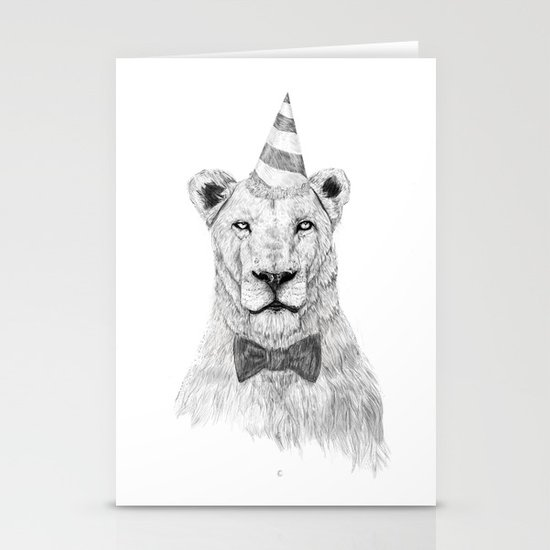 Get the party started Stationery Card