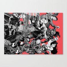 DC Heroes  Canvas Print
