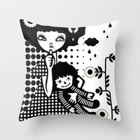 Baby Doll Throw Pillow