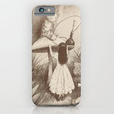 Alice in Wonderland With the Caterpillar  iPhone 6 Slim Case