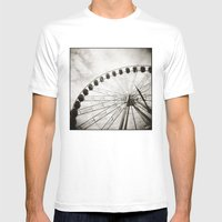 { Ferris Day Out } Mens Fitted Tee White SMALL